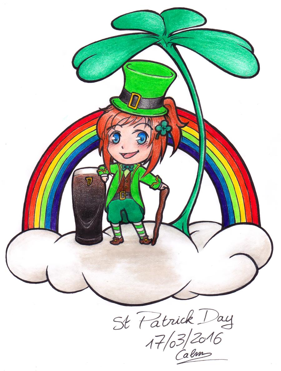 Chibi - Joyeuse St Patrick