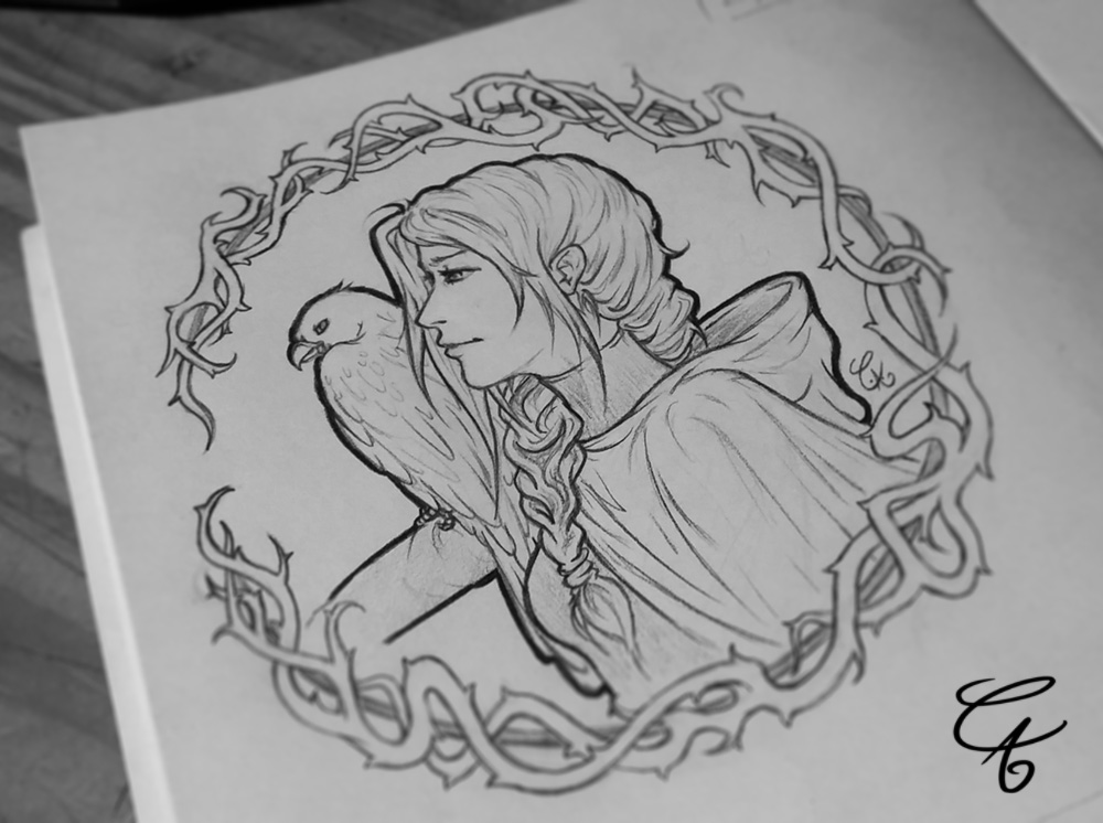 Ganaed et son aigle