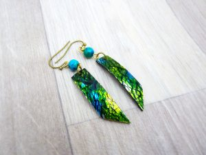 Boucles « Dreams in Colors » – vertes