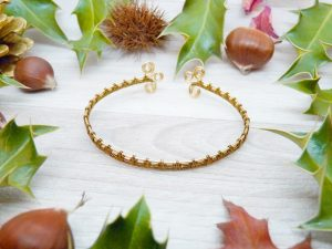 Bracelet « Tressage antique – Abigael »