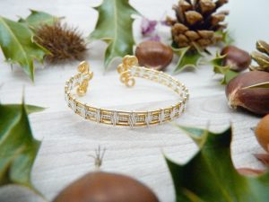 Bracelet «Tressage antique – Alanah»
