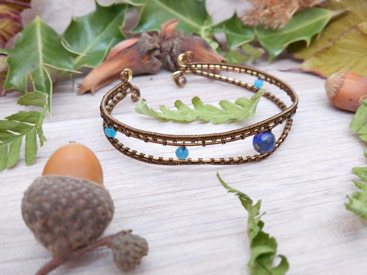 "Bracelet ""Les Yeux de Mahakala"""