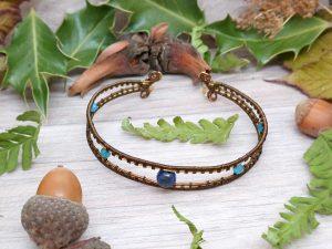 Bracelet «Les Yeux de Mahakala»