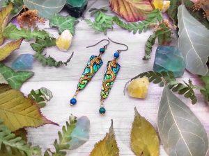 Boucles «Les couleurs de la nature – lianes»