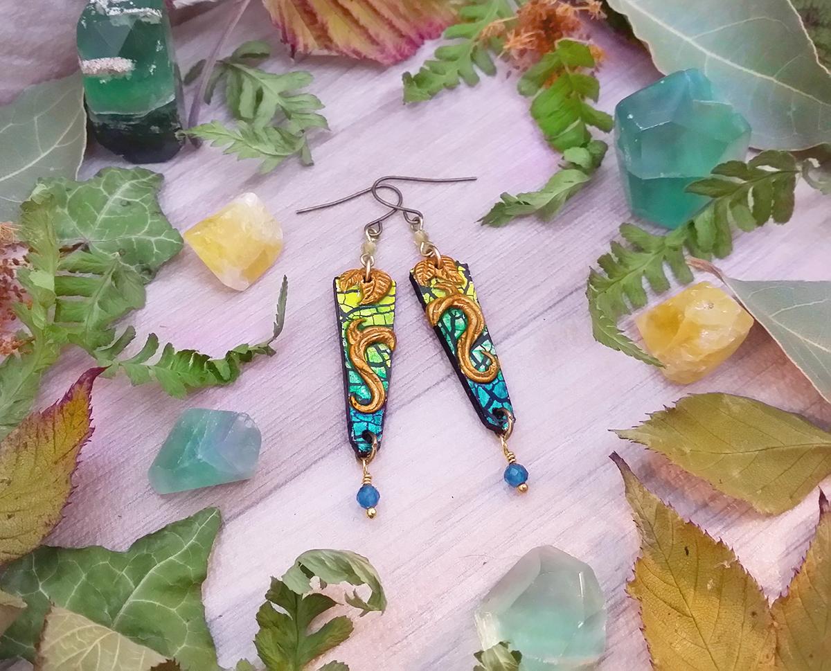 """Boucles """"Les couleurs de la nature – la forêt sur l'eau"""""""