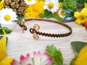 Bracelet «Tressage antique – Abriel»