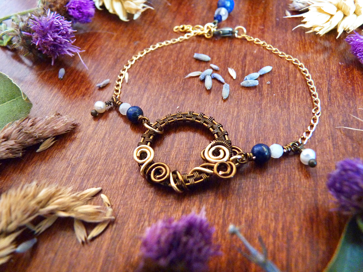 "Bracelet ""Eclipse"""