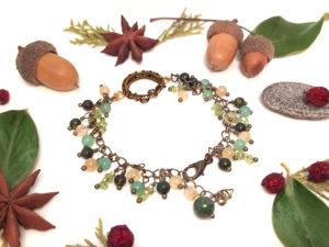 Bracelet ajustable «Sommeil de la Forêt»