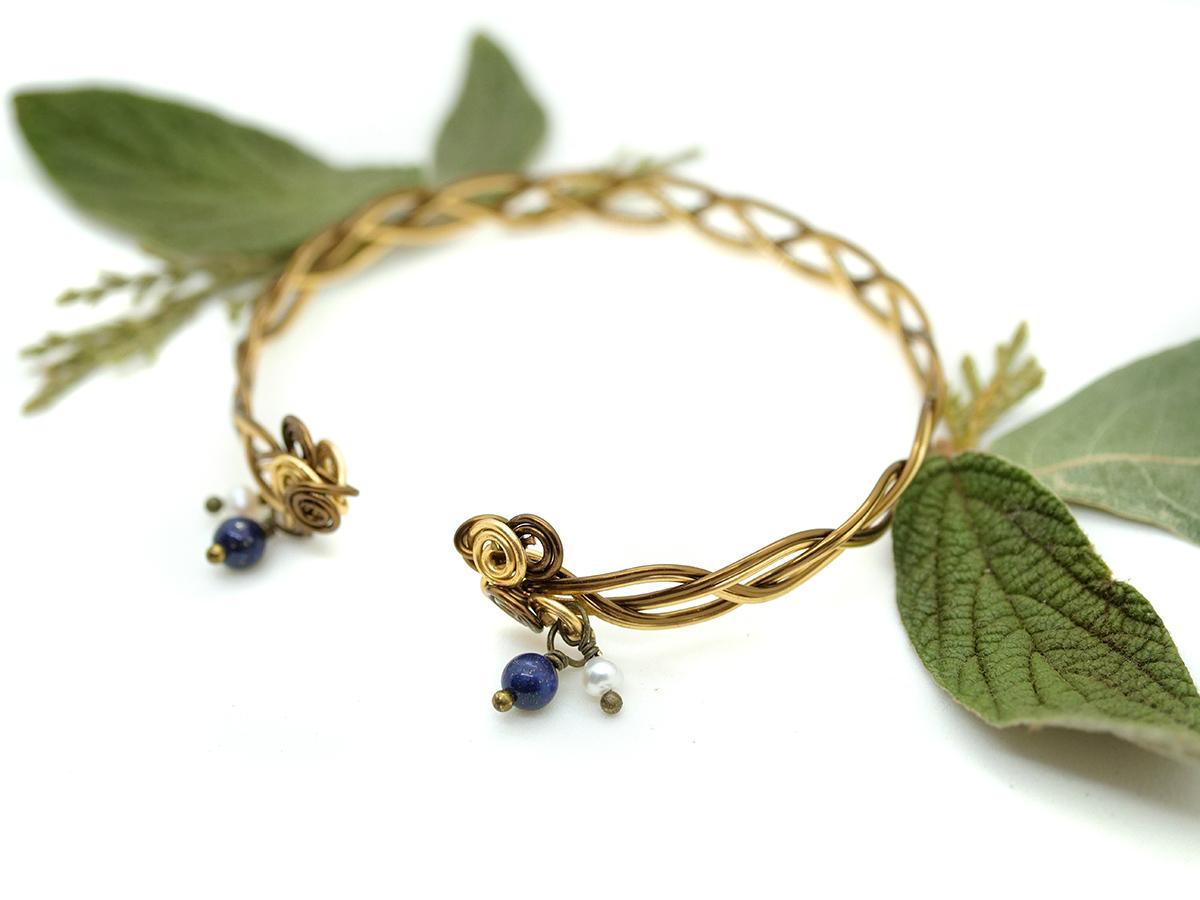 """Bracelet """"Envolée Celtique"""" double"""