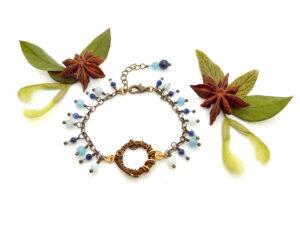 Bracelet «Fleuve au Repos»