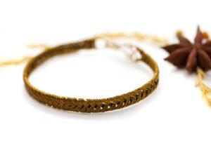 Bracelet «Trésor de la tisseuse»