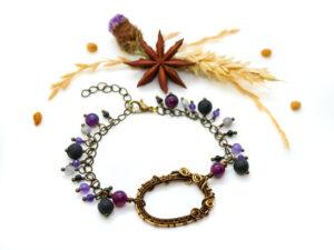 Bracelet «Portail Lilas»